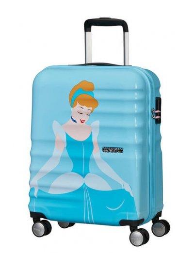 АТ 4-wheel 55cm Spinner suitcase Wavebreaker Cinderella - Wavebreaker Disney