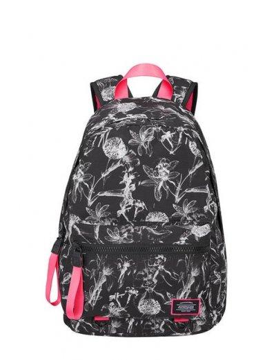 Urban Groove Lifestyle Flowers Black - Sports backpacks