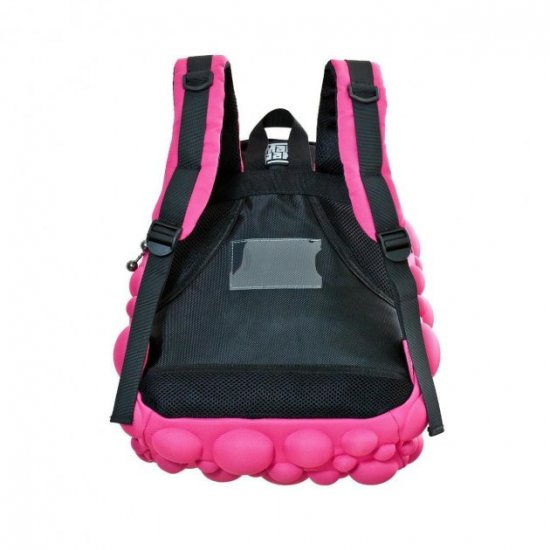 AmericanKids Backpack Bubble Half Neon Back to the Fuchsia - School backpacks for boys