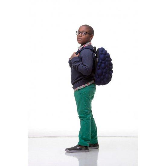 AmericanKids Backpack Bubble Half Black - Kid's school backpacks 1- 4 grade