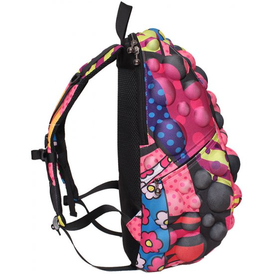 AmericanKids Backpack Bubble Full Coral Hearts - Kid's school backpacks up 4 grade