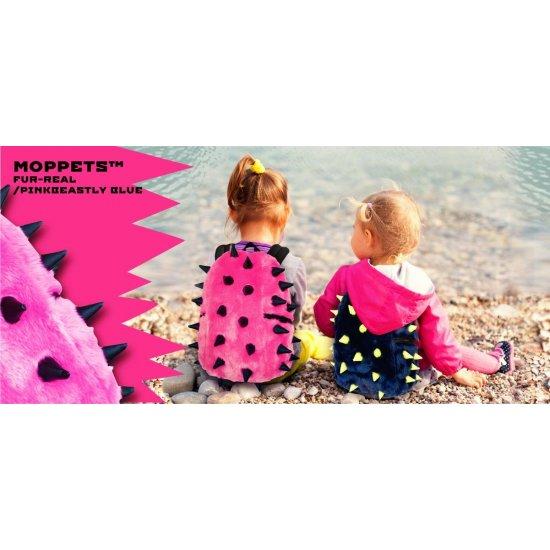 AmericanKids Backpack Rex Half Moppets Fur-Real Pink - School backpacks