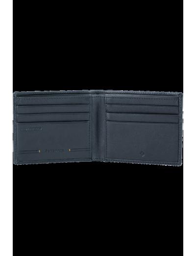 Simpla SLG 6CC+2C Petrol Blue - Men's leather wallets