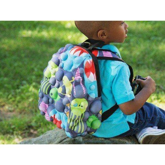 AmericanKids Backpack Bubble Half On Grrray - Kid's school backpacks 1- 4 grade