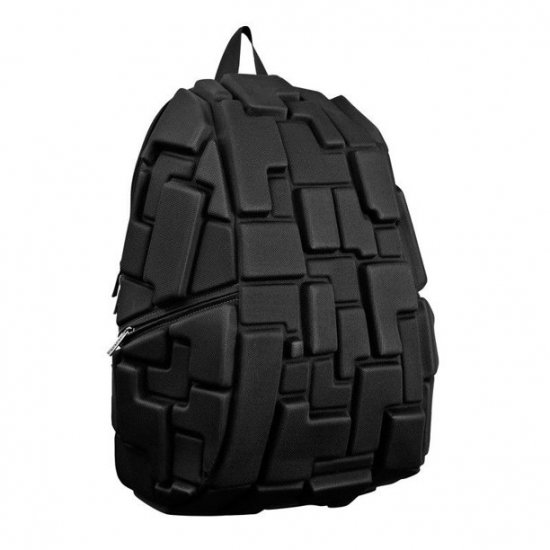 AmericanKids Backpack Blok Full Black - School backpacks