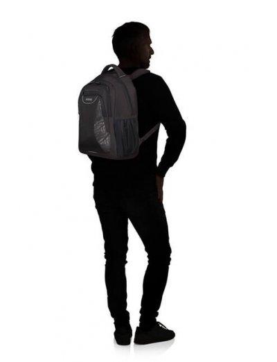 At Work Laptop Backpack 39.6cm/15.6″ Black Print - Product Comparison