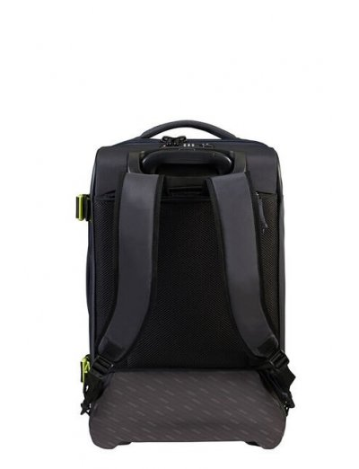 American Tourister Eco Spin Duffle/Backpack with Wheels 55cm Grey - Backpacks with wheels