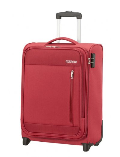 Heat Wave 2-wheel cabin baggage Upright 55cm Brick Red - Softside suitcases