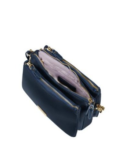 Karissa 2.0 Hor. Shoulder Bag S 3 Comp Midnight Blue - Women's Sports bags
