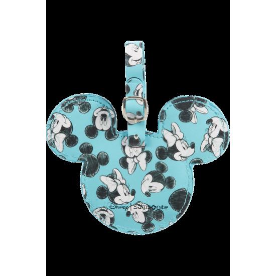ID Tag Mickey/Minnie Blue - Travel accessories