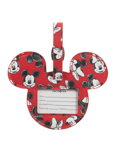 ID Tag Mickey/Minnie Red - Accessories