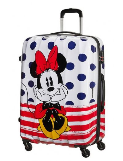 AT Spinner 4 wheels Disney Legends 75 cm Minnie Blue Dots  - Product Comparison