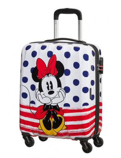 AT Spinner 4 wheels Disney Legends 55 cm Minnie Blue Dots - Disney Legends