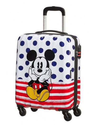 AT Spinner 4 wheels Disney Legends 55 cm Mickey Blue Dots - Product Comparison