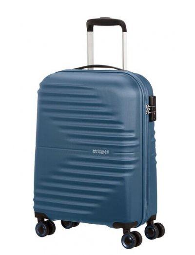 AT Wavetwister 4-wheel cabin baggage Spinner suitcase 55cm Dark Navy - Wavetwister