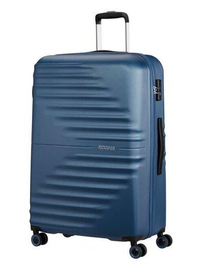 AT Wavetwister 4-wheel Spinner suitcase 77 cm Dark Navy - Women's suitcases