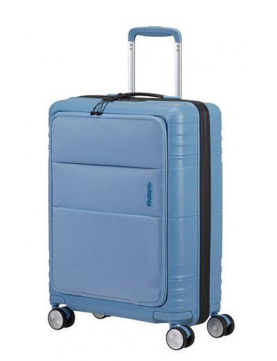 American Tourister Hello Cabin Spinner (4 wheels) 55cm Blue Heaven - Hello Cabin