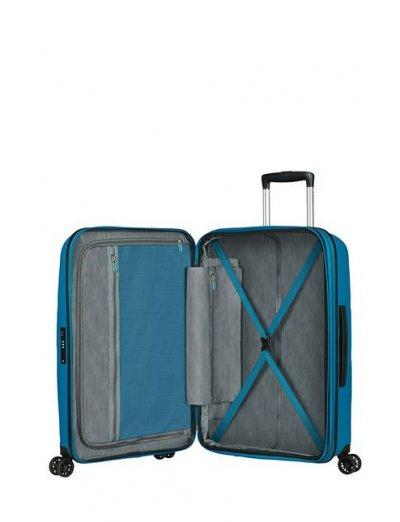 Bon Air Dlx 4-wheel 66cm Medium Spinner suitcase Exp. Seaport Blue - Bon Air Dlx