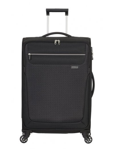 Sunny South Spinner (4 wheels) 67cm Black - Softside suitcases