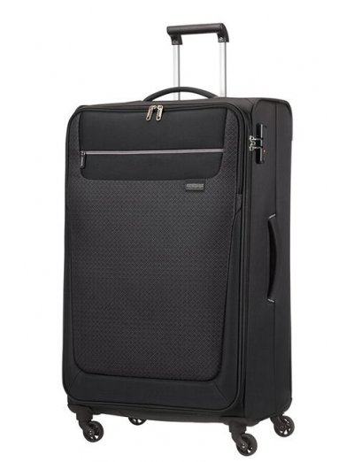 Sunny South Spinner (4 wheels) 79cm Black - Softside suitcases