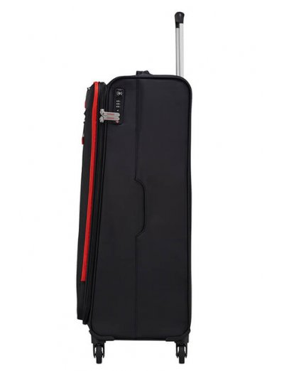Lite Volt Spinner (4 wheels) 79 cm Black/Red - Softside suitcases