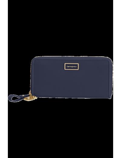 Karissa 2.0 Slg Wallet L Midnight Blue - Karissa 2.0 Slg