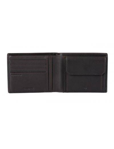 Attack 2 SLG B 4CC+2C+C Ebony Brown - Men's leather wallets