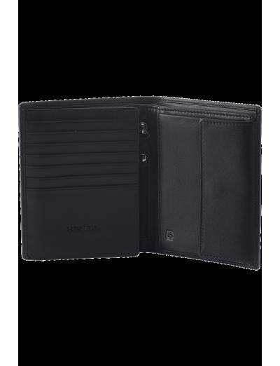 Success 2 SLG W S 11CC+HFL+W+C Black - Men's leather wallets