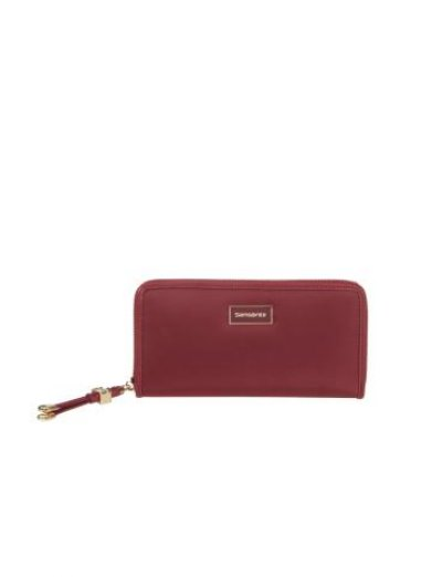 Karissa Slg Wallet L DARK BORDEAUX - Ladies' leather wallets