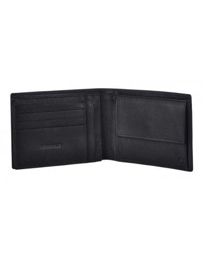 Success 2 SLG B 7CC+VFL+C+2C+W Black - Men's leather wallets