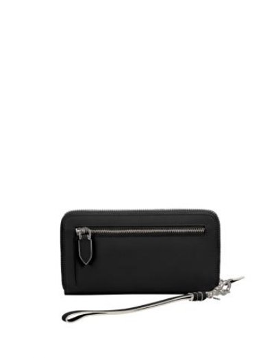 Leathy Slg stylish wallet from 100% leather Black - Ladies' leather wallets