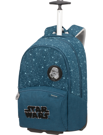 Color Funtime Disney School Trolley  Star Wars Intergalactic - Kid's school backpacks 1- 4 grade