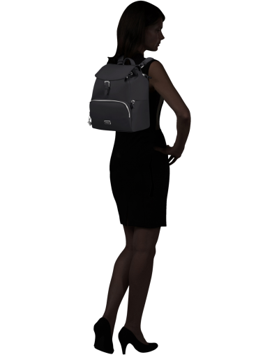 Karissa 2.0 Backpack 3 Pocket 1 Buckle Black - Karissa 2.0