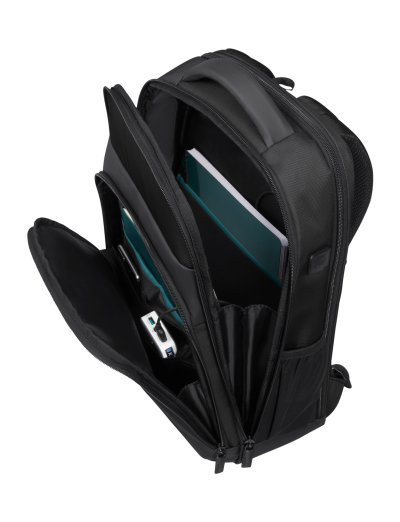"""Mysight Laptop Backpack 17.3"""" Black - Eco"""