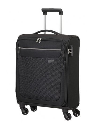 Sunny South Spinner (4 wheels) 55cm Black - Softside suitcases