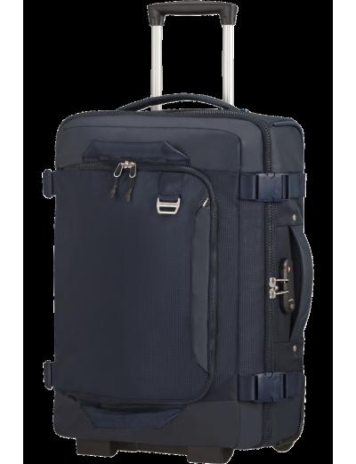 Midtown Duffle/Backpack with Wheels 55cm 15.6 Dark Blue - Backpacks with wheels