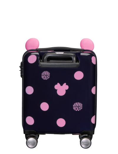 Color Funtime Disney Spinner (4 wheels) 55cm  Minnie Pink Dots - Color Funtime Disney