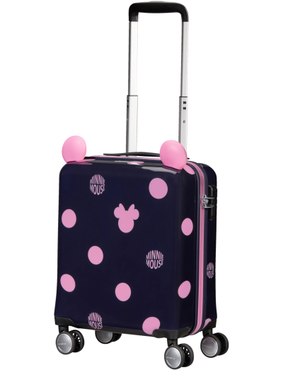 Color Funtime Disney Spinner (4 wheels) 45cm  Minnie Pink Dots - Color Funtime Disney