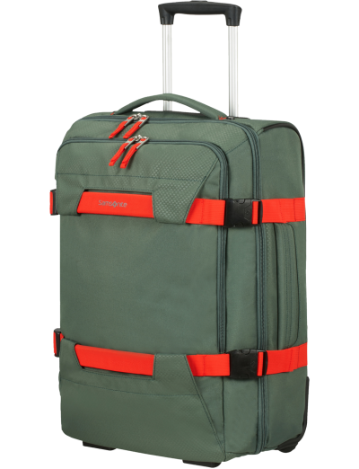 Sonora Duffle with wheels 55cm Thyme Green - Sonora