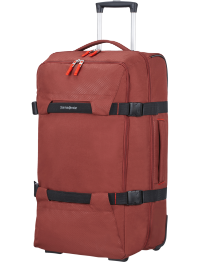 Sonora Duffle with wheels 68cm Barn Red - Sonora