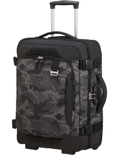 Midtown Duffle/Backpack with Wheels 55cm 15.6 Camo Grey - Product Comparison