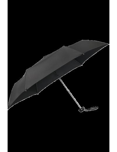 Plu Essential 3 Sect. Manual Black Flat - Mini Black - Ladies umbrella