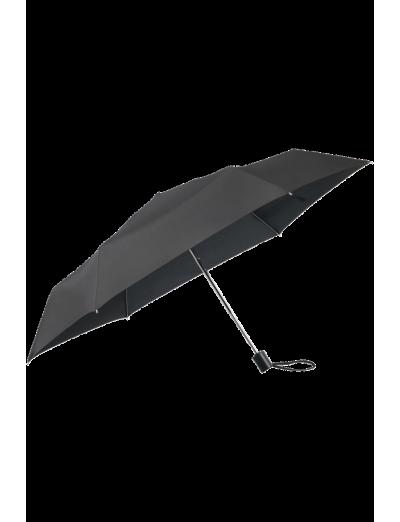 Plu Essential 3 Sect. Auto O/C Black - Ladies umbrella