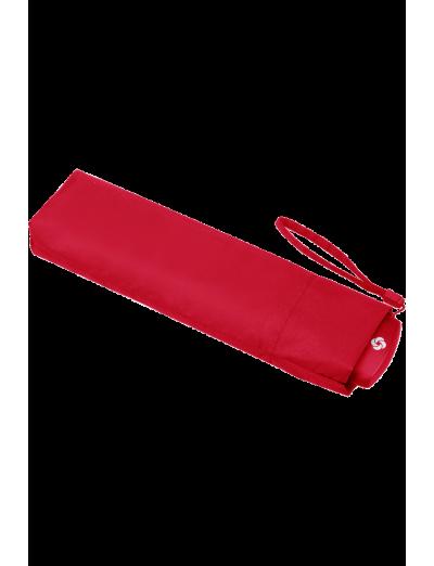 Plu Essential 3 Sect. Manual Black Flat - Mini Formula Red - Umbrellas