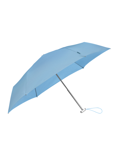 Alu Drop S TM  3 Sect. Manual Grafit Blue - Ladies umbrella