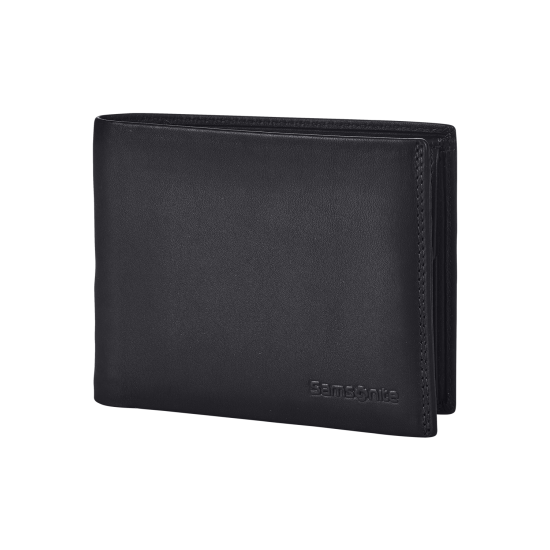 Attack 2 SLG B 4CC+2C+C Black - Leather wallets