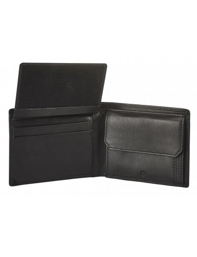 Attack 2 SLG B S 4CC+VFL+C+2C Black - Leather wallets