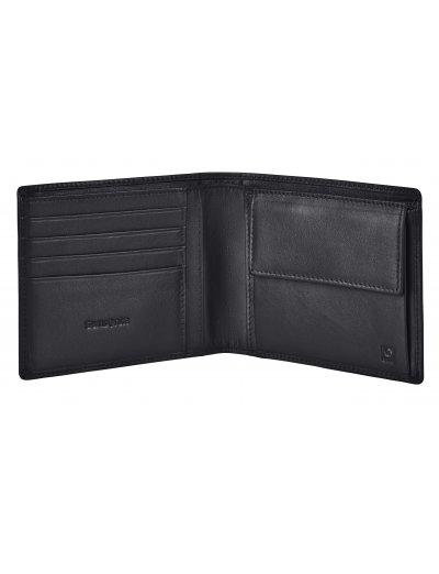 Success 2 SLG B 4CC+2C+C Black - Men's leather wallets