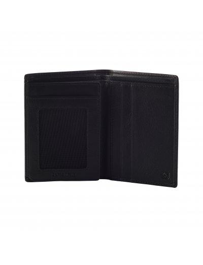Success 2 SLG W S 4CC+HFL+2W+2C Black - Men's leather wallets