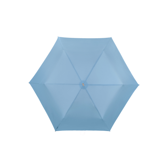 Alu Drop S TM  3 Sect. Manual Grafit Blue - Ladies umbrella